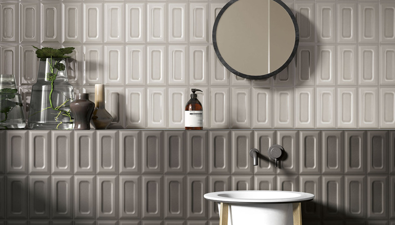 Vintage-style ceramic solutions for today's bathrooms