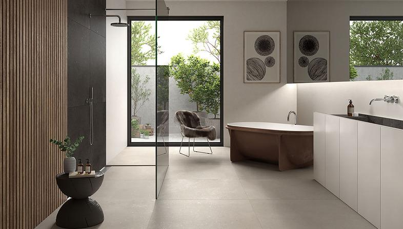 Minimalist design of Nordic inspiration: Loft ceramic surfaces
