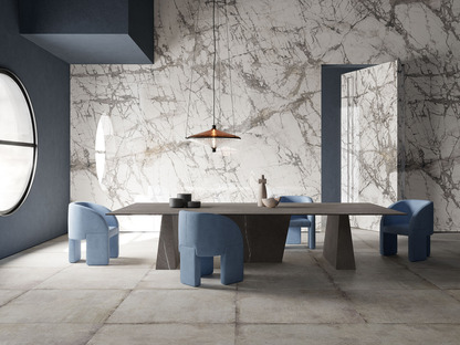 Customising spaces with maxi-slabs: the new Ultra Ariostea collections