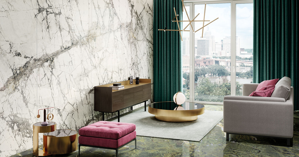 Between the classic and the contemporary: the aesthetic of marble in the new textures from FMG