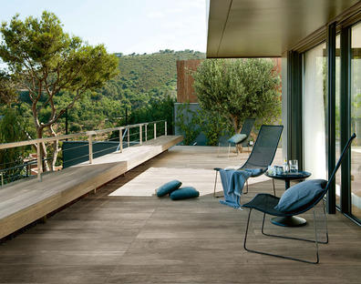 Outdoor space as a new living room: solutions for open-air living from Iris Ceramica