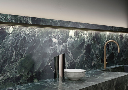 Alpi Chiaro Venato: a SapienStone countertop for elegance and practicality in the kitchen