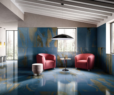 Cosmic Marble: warm, bright spaces for design in 2021