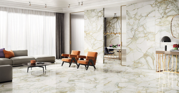 FMG Select: archetypes of beauty in marble-effect surfaces