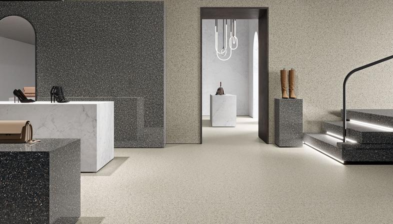 The ancient art of Venetian terrazzo flooring: Ariostea's Accademia surfaces