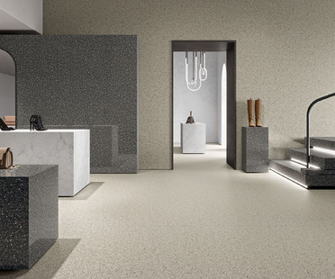 The ancient art of Venetian terrazzo flooring: Ariostea's Accademia surfaces