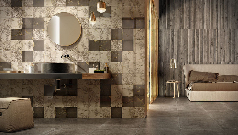 Setting the scene in everyday spaces: creativity and freedom of installation with Iris Ceramica coverings