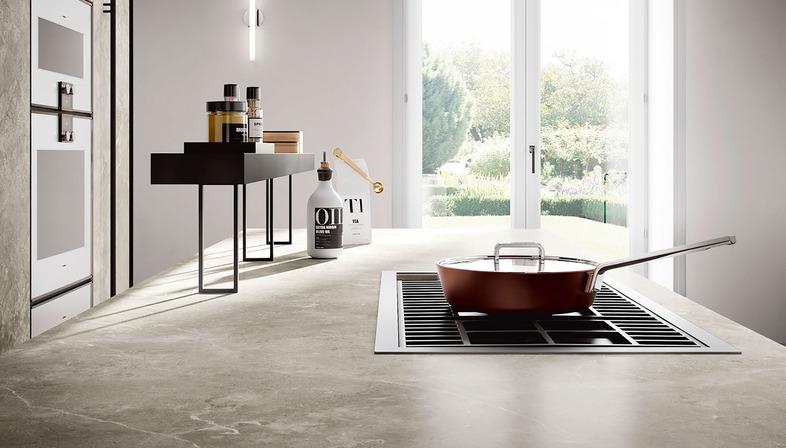 Elegant yet functional kitchens: SapienStone countertops in shades of grey