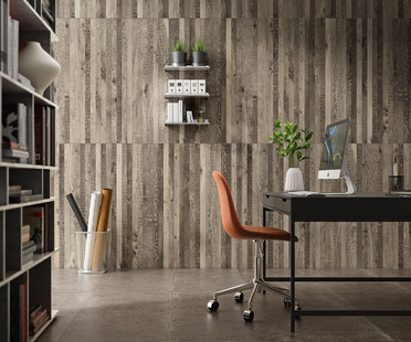 Harmony and balance between different materials: Iris Ceramica's Whole collection