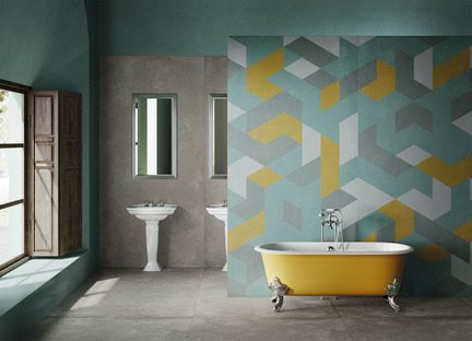 Decorating and customising spaces with high-tech ceramic: DYS - Design Your Slabs