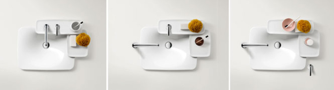 Axor, taps and sinks from the Axor Bouroullec collection