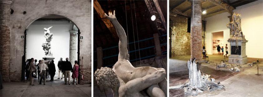 "Urs Fischer, ""The Rape of the Sabine Women"",  54th International Art Exhibition"