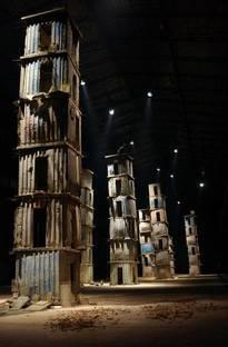 "Anselm Kiefer, ""The Seven Celestial Palaces"", Hangar Bicocca, Milan, 2005"