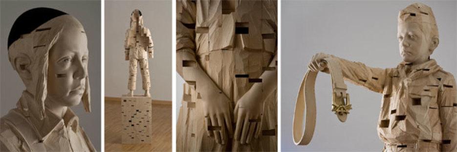 Gehard Demetz, various works, courtesy of Galleria Rubin, Milan