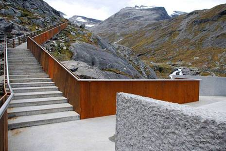 Trollstigen. Design: RRA Reiulf Ramstad Architects