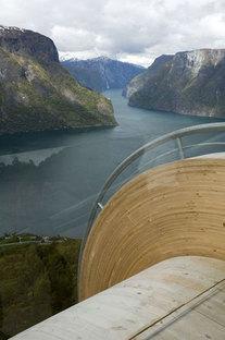 Aurland. Tourist routes in Norway. Design: Todd Saunders & Tommie Wilhelmsen