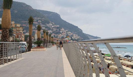 Seaside promenade - Pietra Ligure (SV)