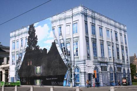 Musée Magritte in Brussels, 2009