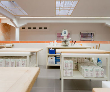 ACTIVE Clean Air & Antibacterial Ceramic™ completes the kitchen of a well-known restaurant in Bologna