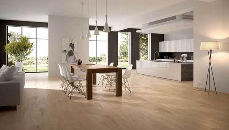 Wood-effect porcelain tiles for floors<br />