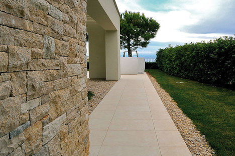Ariostea, Crema Europa porcelain tiles – CM2 High-Tech Natural Stones