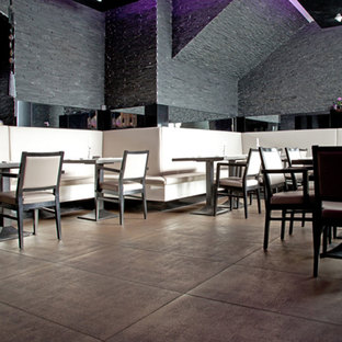 A cosy atmosphere featuring big tiles