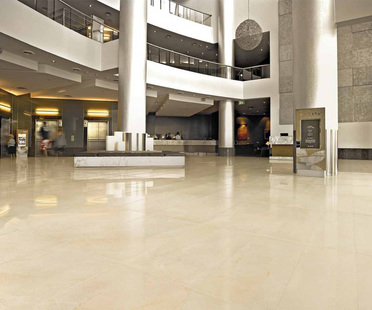 Marble floors and walls: Ariostea technology