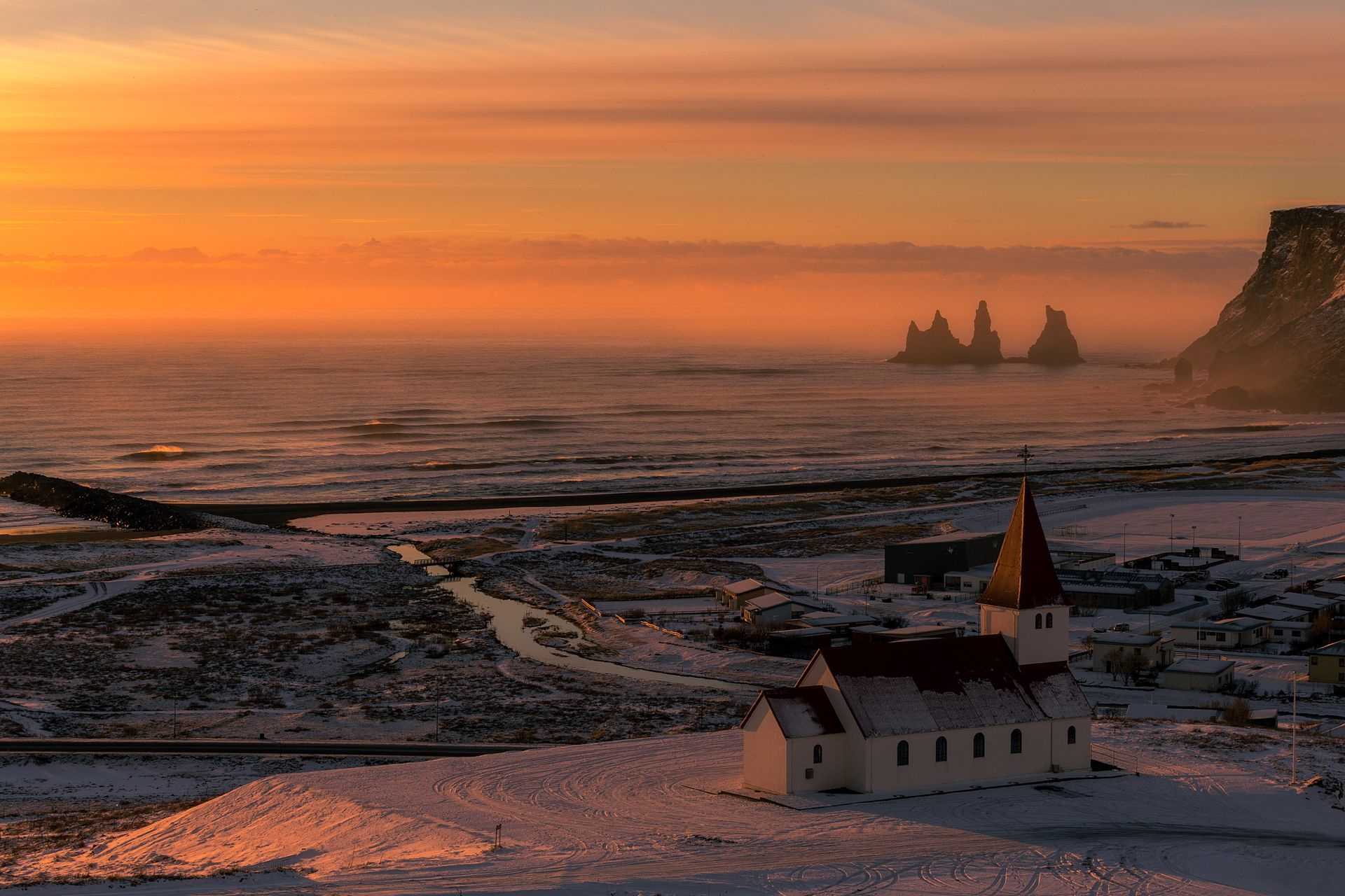 Landscapes in Iceland: amongst ice and silence