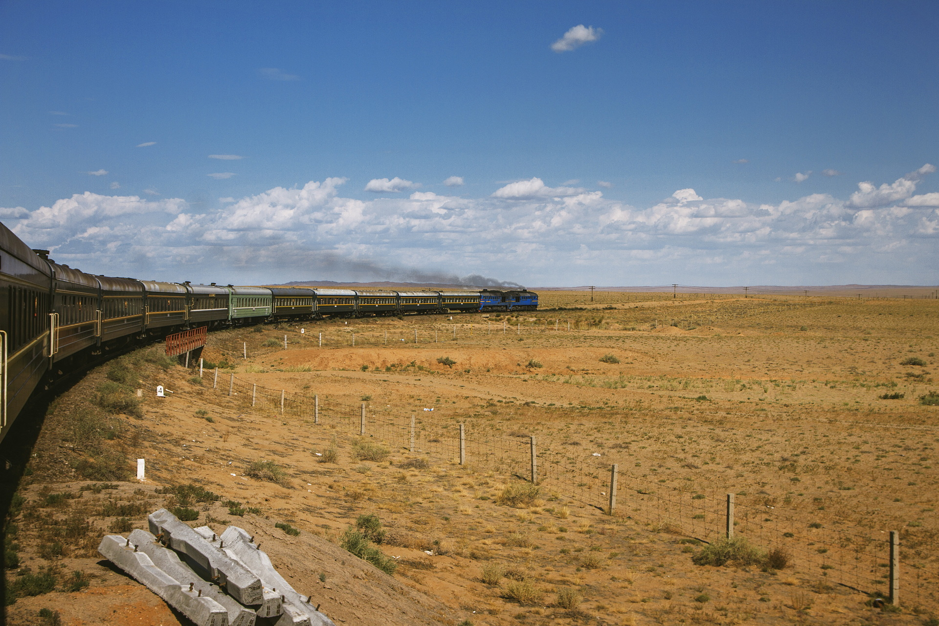 Aristide Russo – Discovering the Trans-Mongolian railway
