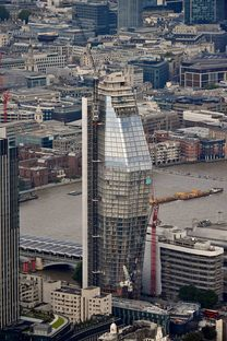 Chris Johnson. London from a helicopter