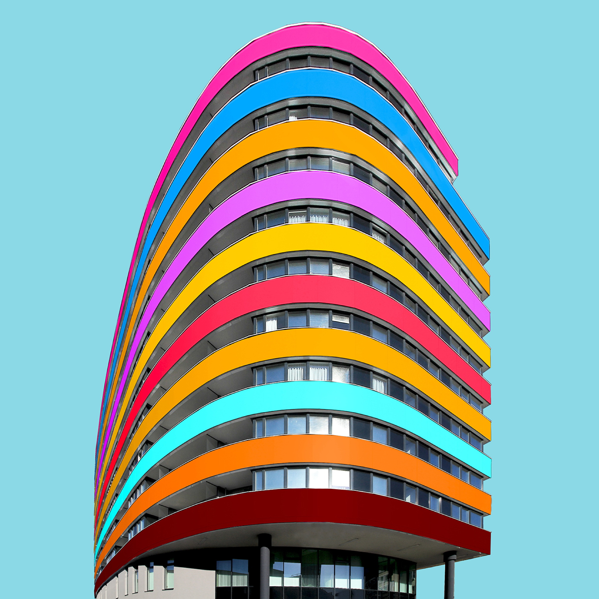 Paul Eis: colouring architecture
