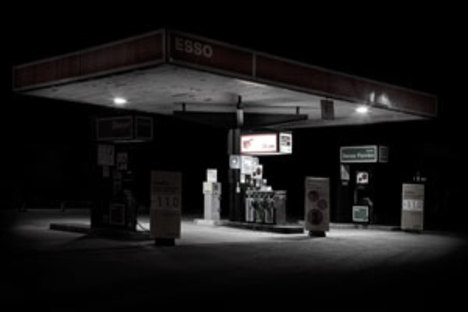 Gas Stations, architecture, visual metaphors