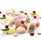 "The ingredients in a refined, elegant dish: ""Cappon magro"""