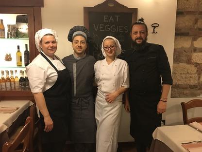 """Verona's """"La Lanterna"""" restaurant: the bio-vegan venue"""