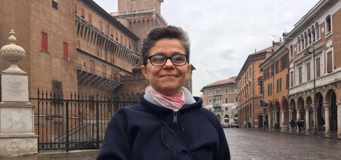 Cecilia Mattioli: more of an apprentice than a sorcerer in the kitchen