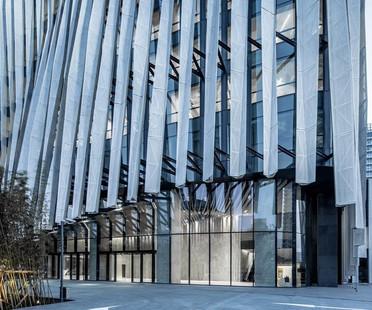 Frangisole in alluminio per Kengo Kuma – Shanghai Soho Buliding