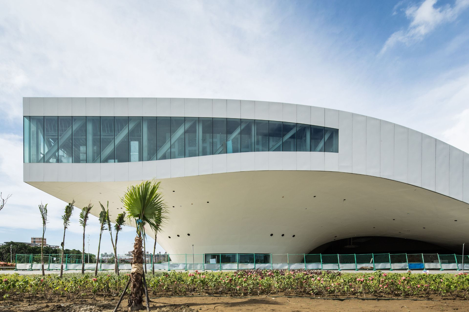 Details Of Construction Of Kaohsiung Centre For The Arts