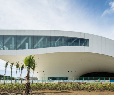 Details of construction of Kaohsiung Centre for the Arts by Mecanoo