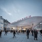 Sprayed concrete roofs at Copenhagen's Nørreport Station – COBE architects.