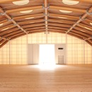 Studio with paper tube shell in Kyoto and Paris – Shigeru Ban