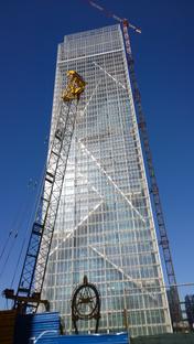 Fuksas' kaleidoscopic tower in Turin