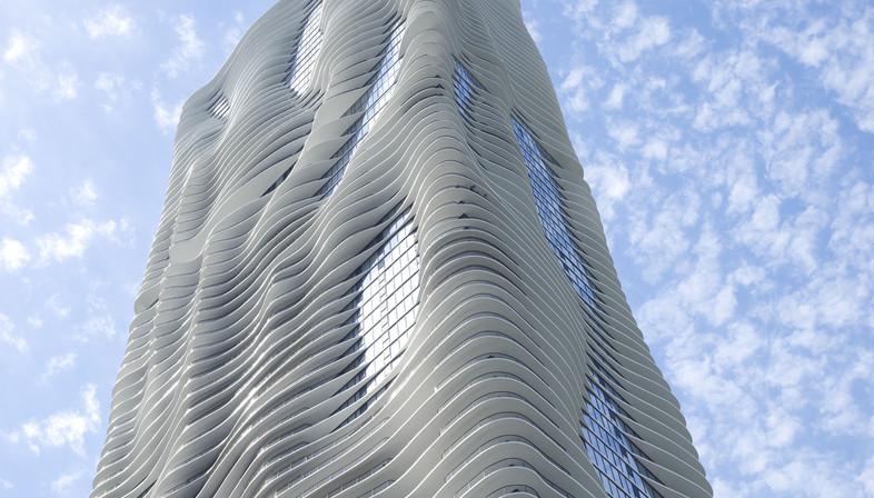 Studio Gang S Aqua Tower In Chicago Floornature