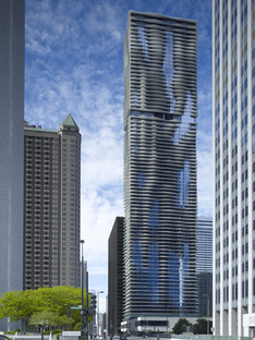 Studio Gang's Aqua Tower in Chicago