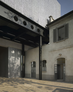 A renovated distillery becomes OMA Rem Koolhaas's Fondazione Prada in Milan