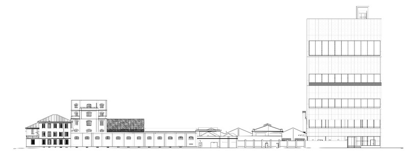 Master plan for Fondazione Prada in Milan by OMA Rem Koolhaas
