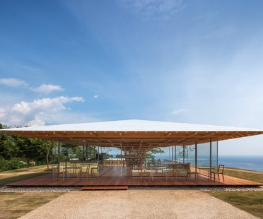 A tree-like structure for Kengo Kuma's Coeda House