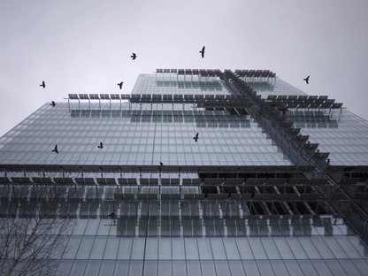 Glass walls and photovoltaic panels for RPBW's Palais de Justice in Paris
