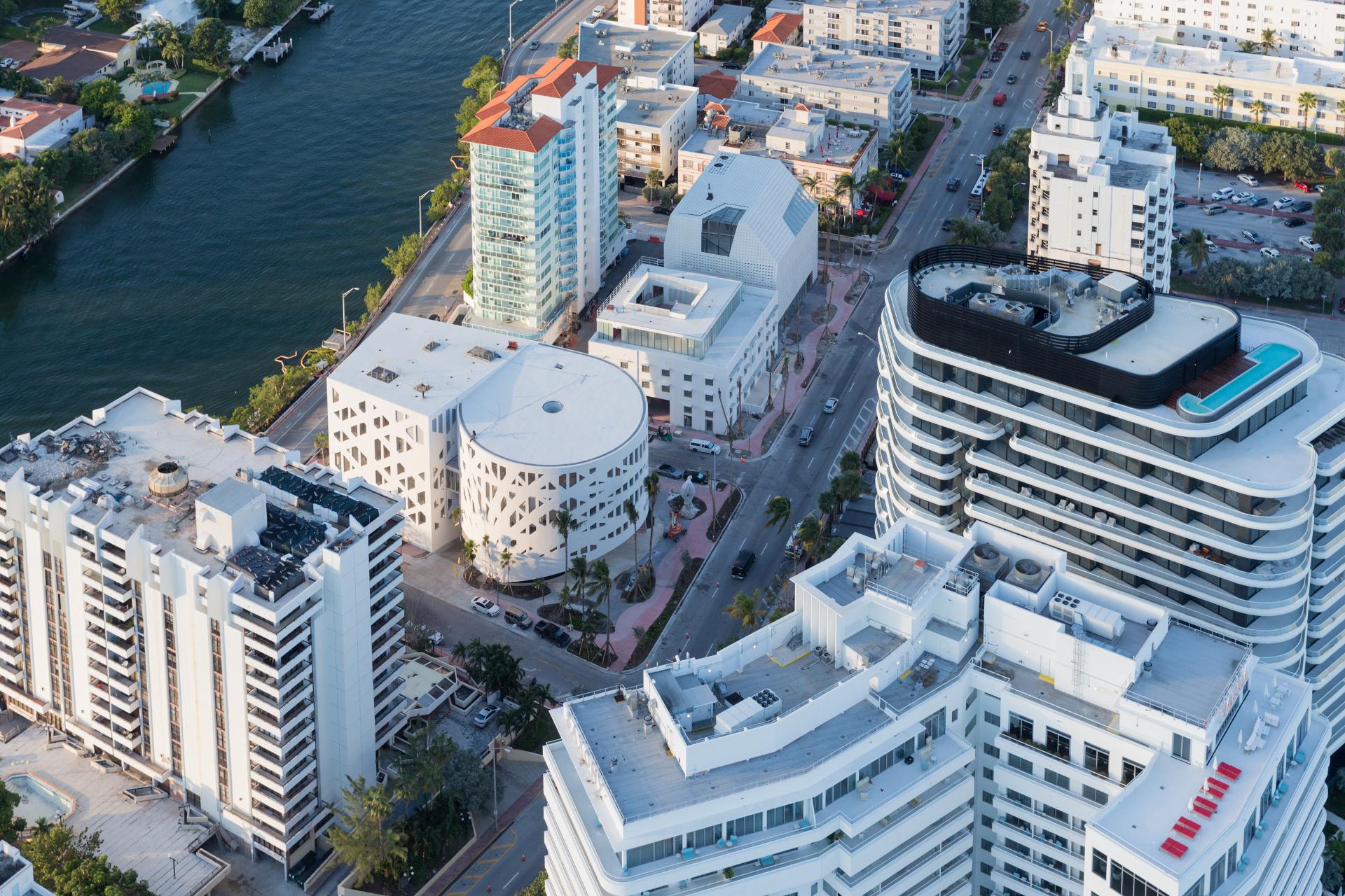 Faena Bazaar and Park in OMA's Faena District in Miami Beach