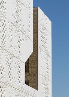 GRC facade for Mecanoo's Cordoba Courthouse