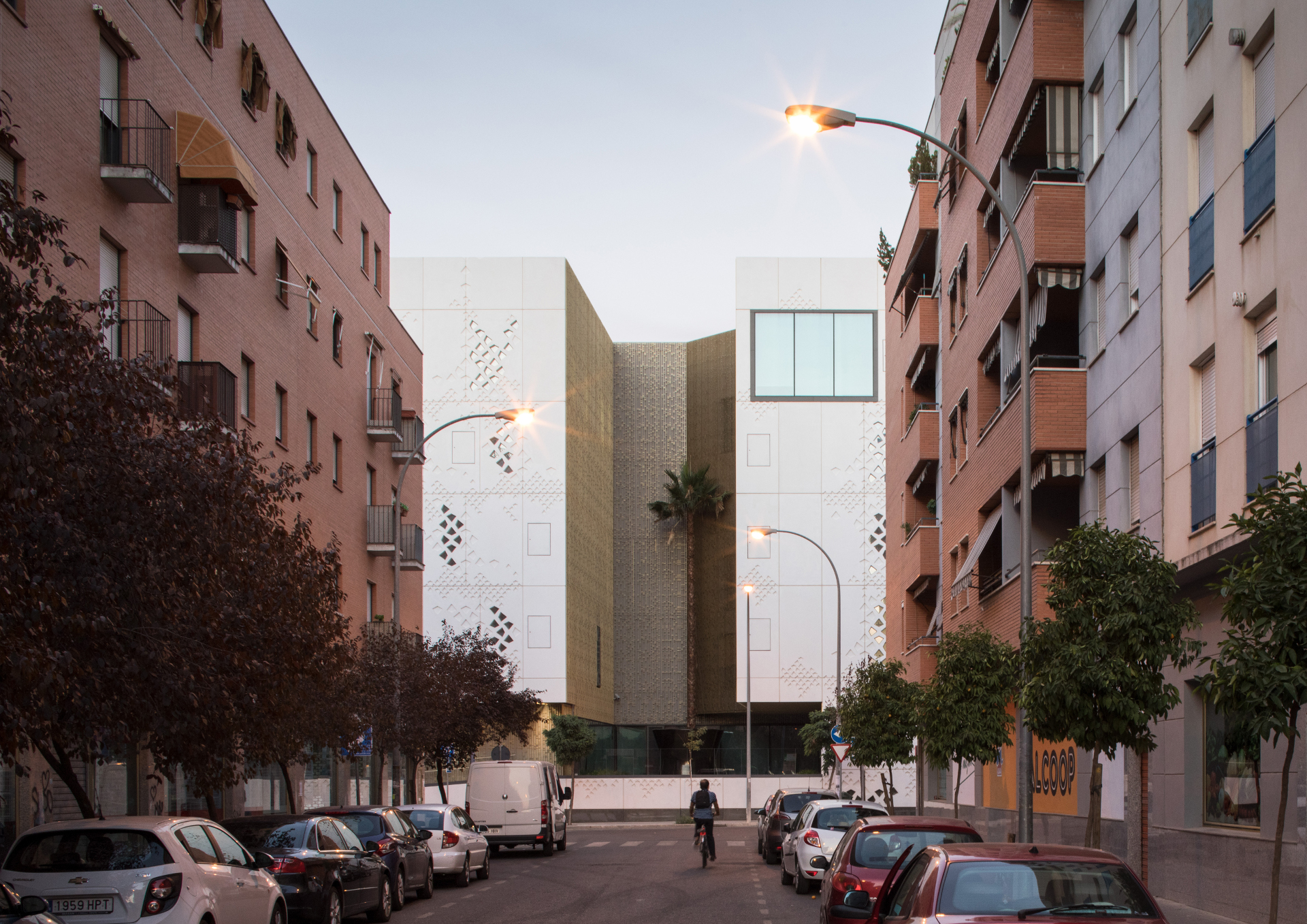 GRC facade for Mecanoo's Cordoba Courthouse